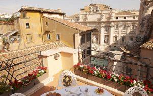 hotel Fontana di Trevi Roma